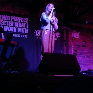 Becky Hill Performing  'Losing'